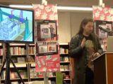 Boekpresentatie bij boekhandel Paagman