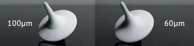 100 microns vs 60 microns